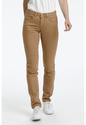 LOTTECR - Slim fit jeans - toasted coconut