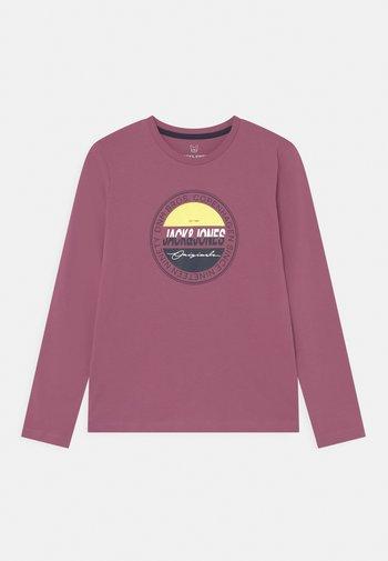 JORMASON TEE CREW NECK JR - Long sleeved top - bordeaux
