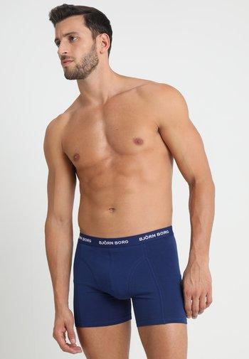 SHORTS SOLIDS 3 PACK - Pants - blue depths