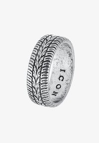 Icon Brand - SICK & TYRED - Bague - silver-coloured - 3