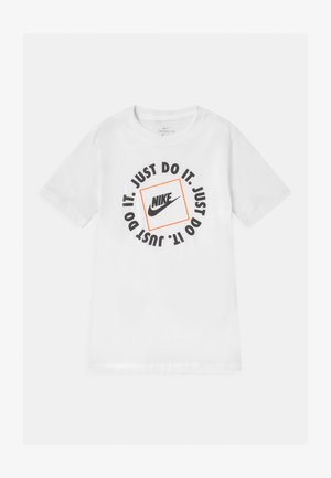 BOX - T-shirt z nadrukiem - white