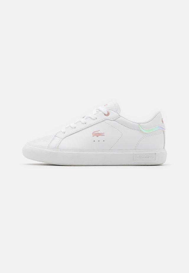 POWERCOURT - Trainers - white/light pink