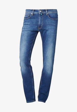 FLEX - Straight leg jeans - stone-blue denim