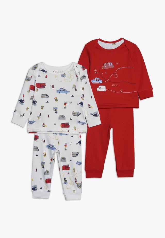 BABY RESCUE SET 2 PACK - Pyjama - red