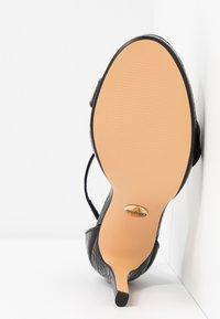 Buffalo - JANNA - Korolliset sandaalit - black - 6