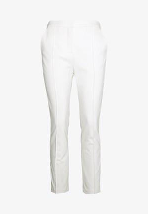 PUNTO PANTS LOGO TAPE - Trousers - offwhite