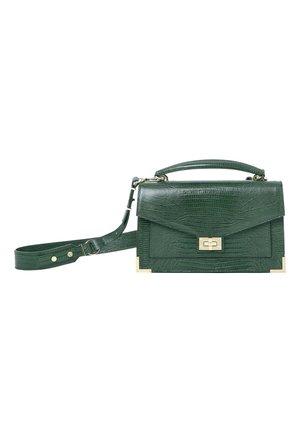 THE KOOPLES BAG EMILY MEDIUM LEZARD - Across body bag - green
