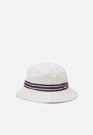 BUCKET HAT HERITAGE TAPE UNISEX - Hatt - blanc de blanc