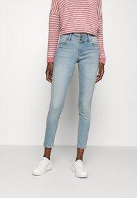Lindex - Slim fit jeans - light denim - 0