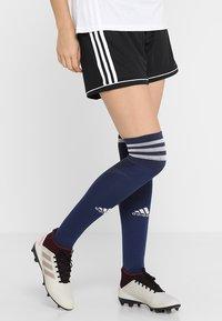 adidas Performance - SQUADRA CLIMALITE FOOTBALL 1/4 SHORTS - Träningsshorts - black/white - 0