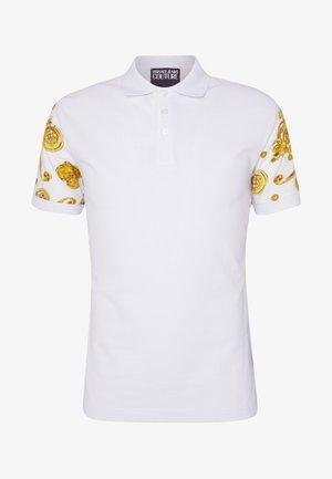 GIOIELLI BACK PRINT - Polo shirt - white