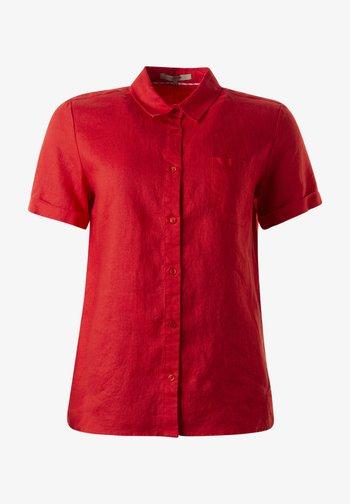 Button-down blouse - ziegel