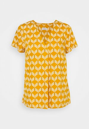 BLOUSE WAVES - Blouse - sunflower