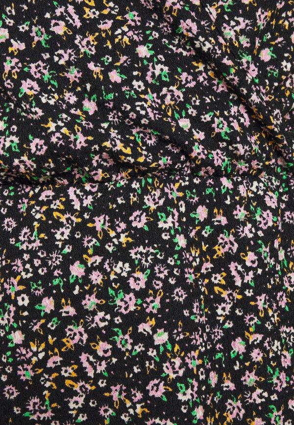 ONLY ONLZILLE NAYA FIXED WRAP - Bluzka - black/czarny HTKE