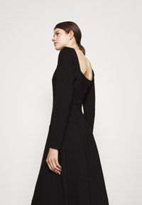 Trussardi - DRESS COMPACT - Day dress - black - 4