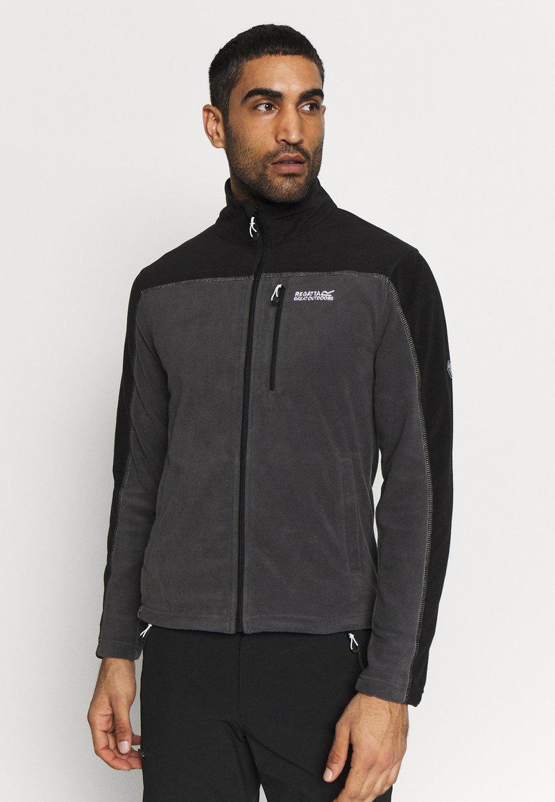 Regatta - FELLARD - Fleece jacket - magnet/black