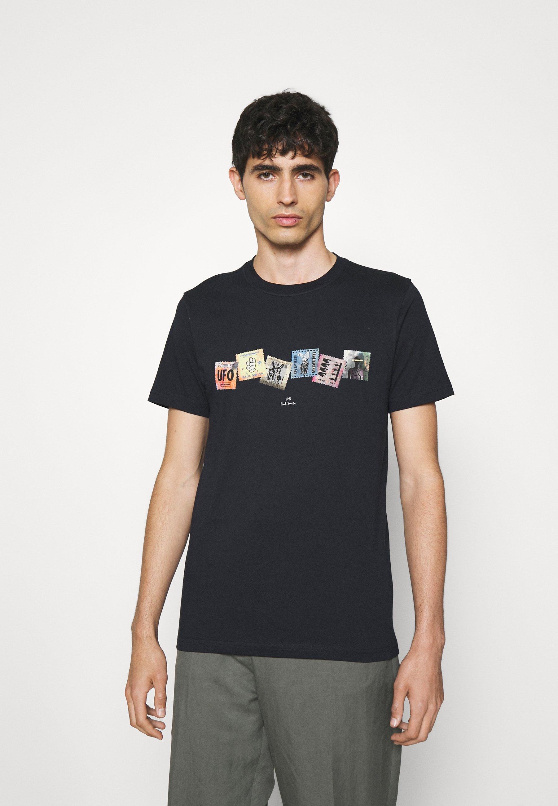 Herren SLIM FIT TSHIRT STAMPS - T-Shirt print