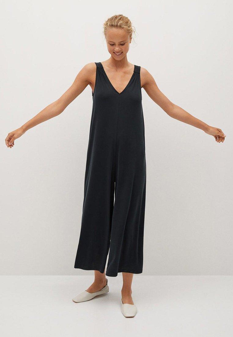 Mango - MODAL-H - Jumpsuit - grigio antracite