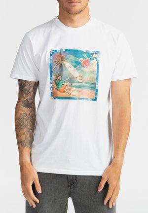 FIRST SIGHT  - Print T-shirt - white