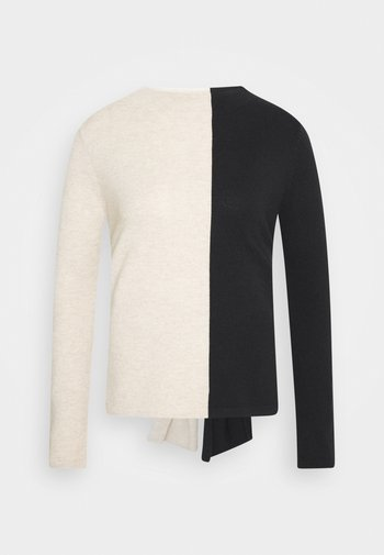 TAMILLY COLORBLOCK - Pullover - black