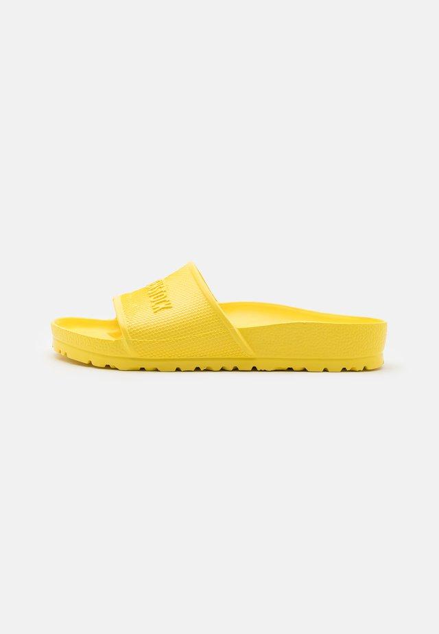 BARBADOS UNISEX - Sandały kąpielowe - vibrant yellow
