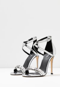 MICHAEL Michael Kors - GOLDIE SINGLE SOLE - High heeled sandals - silver - 4