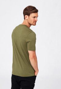 Selected Homme - SHDTHEPERFECT - T-paita - olive - 2