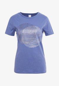 BOSS - TEMOIRE - Print T-shirt - dark purple - 3