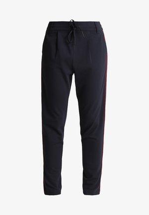 ONLPOPTRASH EASY DUO MIX PANEL PANT - Trousers - night sky/cloud dancer