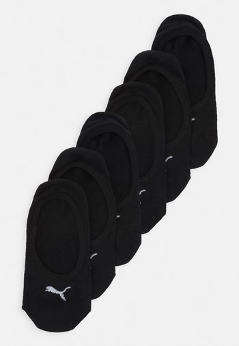 FOOTIE 6 PACK UNISEX - Varrettomat sukat - black