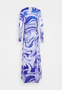 HOSBJERG - ASTA DRESS - Długa sukienka - purple liquid - 1