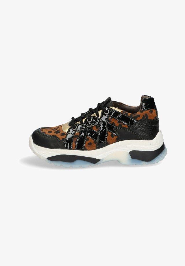 BOWIE BALE  - Sneakers laag - cognac/black