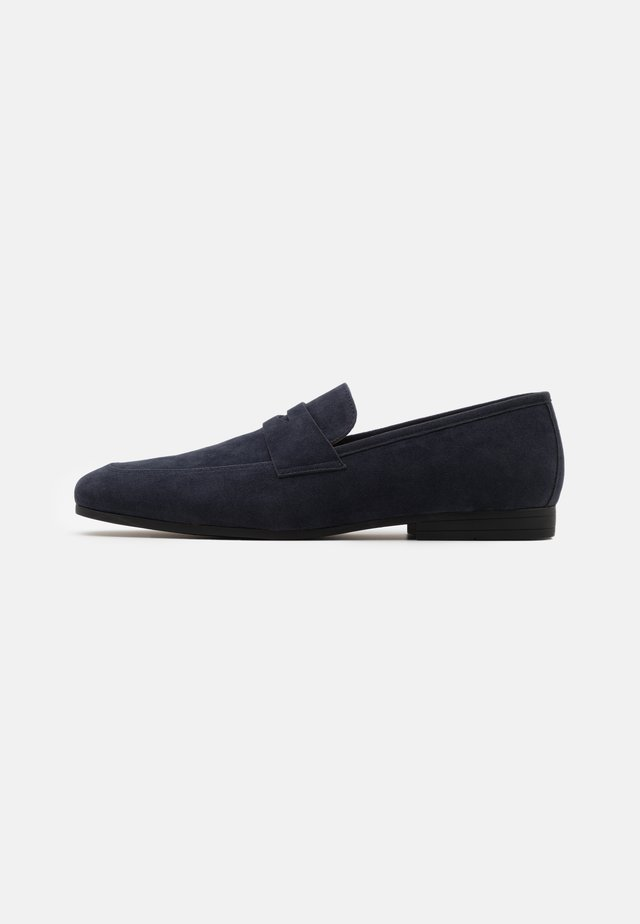 Business-Slipper - dark blue