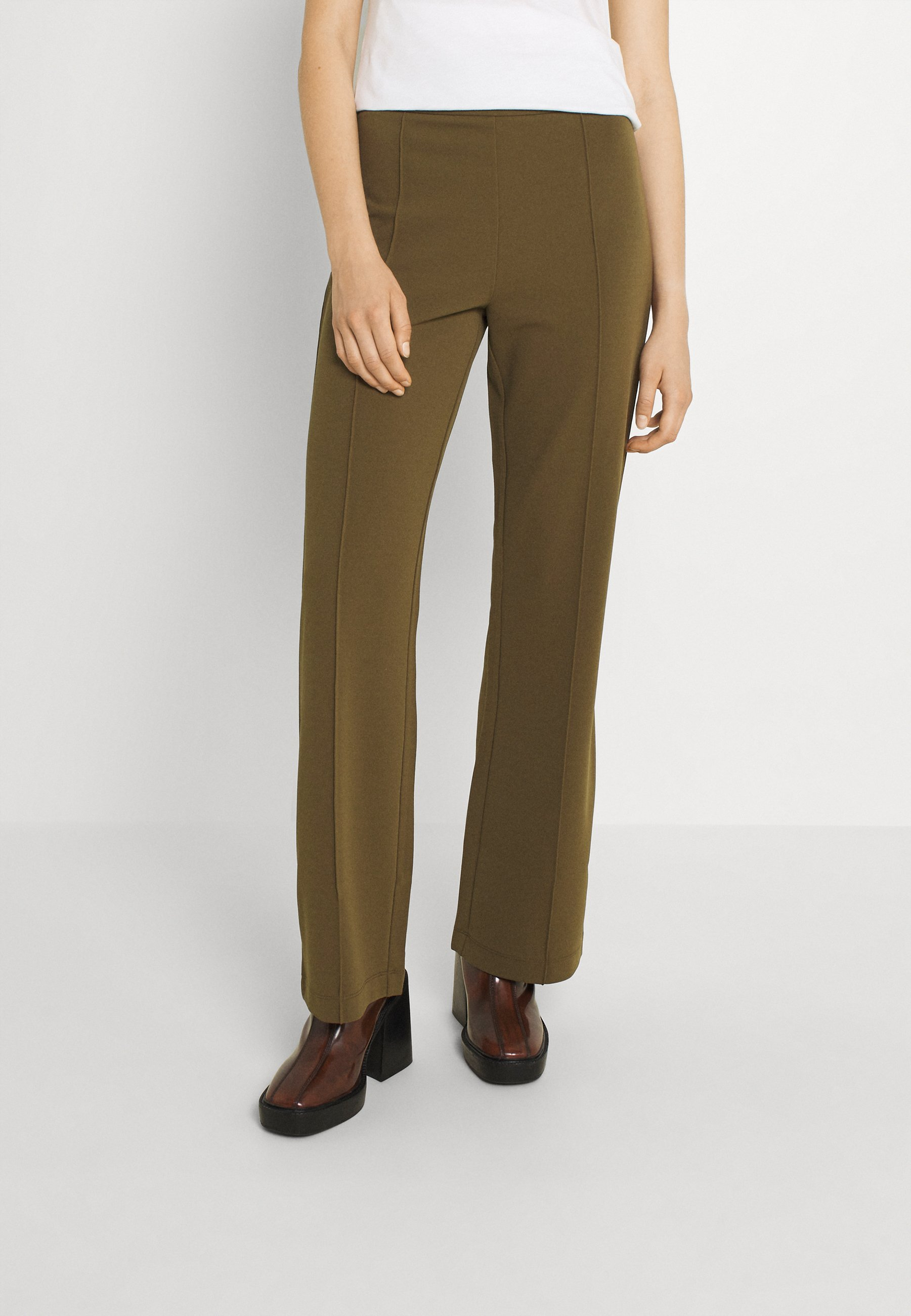 Mujer YASVICTORIA PINTUCK PANT - Pantalones