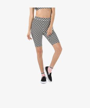 Shorts - black/white checkerboard