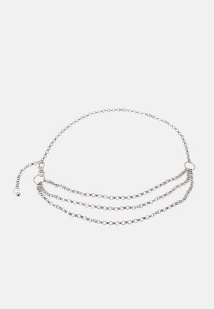JANE CHAIN BELT JULI - Waist belt - silver-coloured