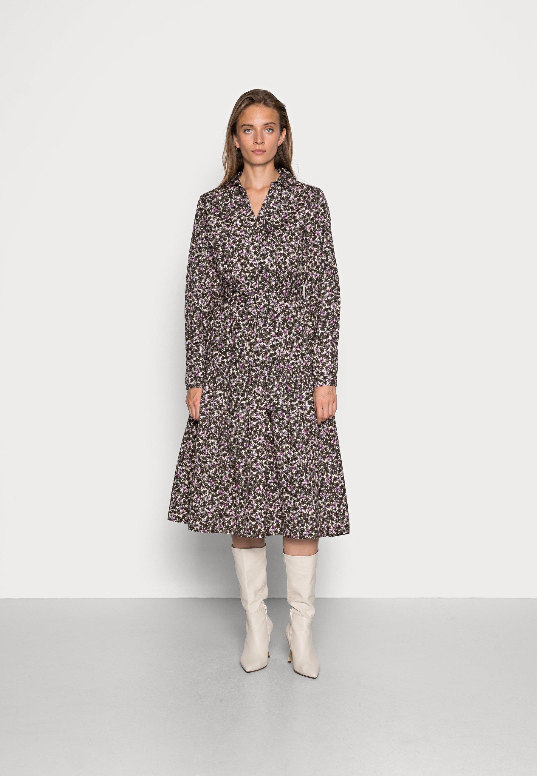 Donna SLFSOLVEIG DRESS - Abito a camicia