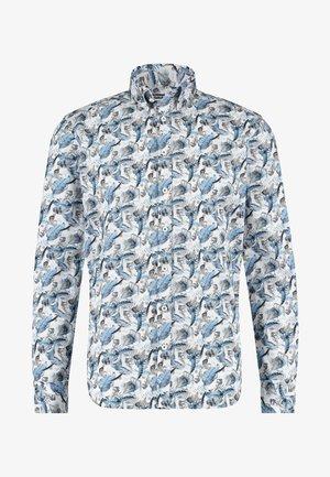 Shirt - grey blue/sand