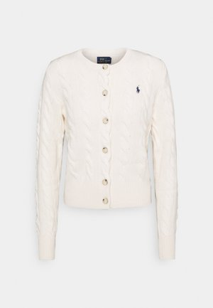 CARDIGAN LONG SLEEVE - Cardigan - cream