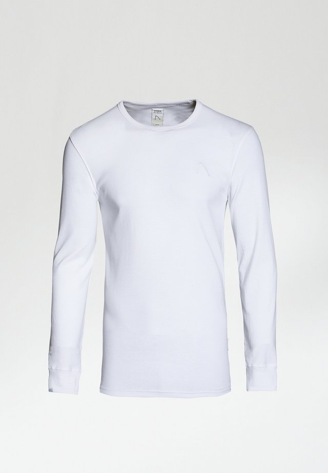 DAMIAN-B - Long sleeved top - white