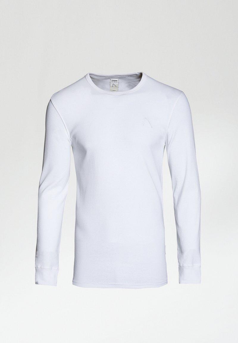 CHASIN' - DAMIAN-B - Camiseta de manga larga - white