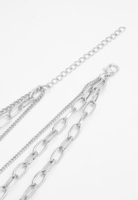 Urban Classics - LAYERING CROSS NECKLACE UNISEX - Halsband - silver-coloured - 1