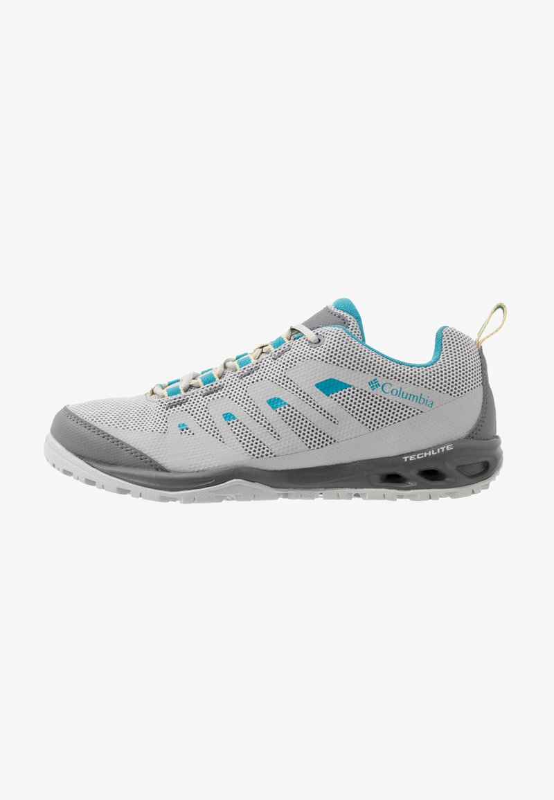 Columbia - VAPOR VENT - Hiking shoes - grey ice/beta