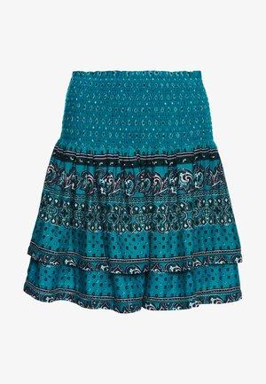 A-line skirt - deep green