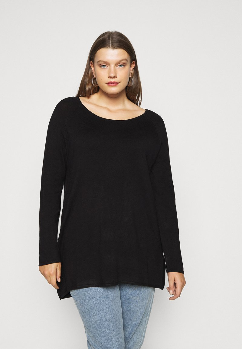Even&Odd Curvy - Neule - black
