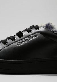 Calvin Klein - SOLEIL  - Sneakers laag - black - 6