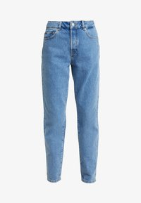 Selected Femme - SLFLOU DAWN - Slim fit jeans - dark blue denim - 5