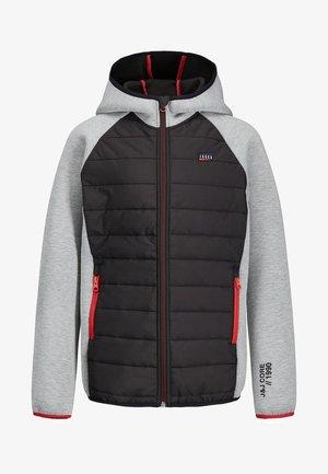 KAPUZEN - Light jacket - light grey melange