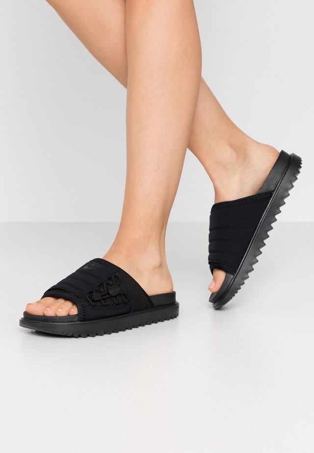 CITY SLIDE - Mules - black