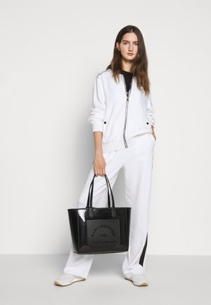 JOURNEY TRANSPARENT TOTE - Torebka - black